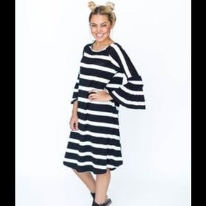 New with tags Bloom dress Black and white stripe